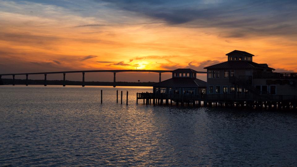 Sunset at Solomons