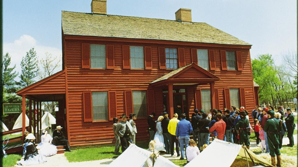 Surratt House Museum in Clinton, Maryland