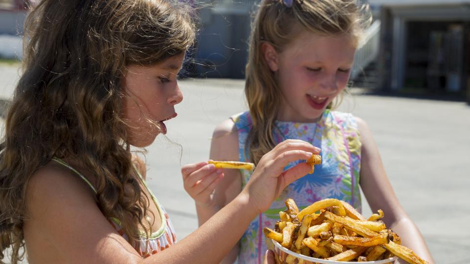 Thrashers Fries on the Boardwalk in Ocean City