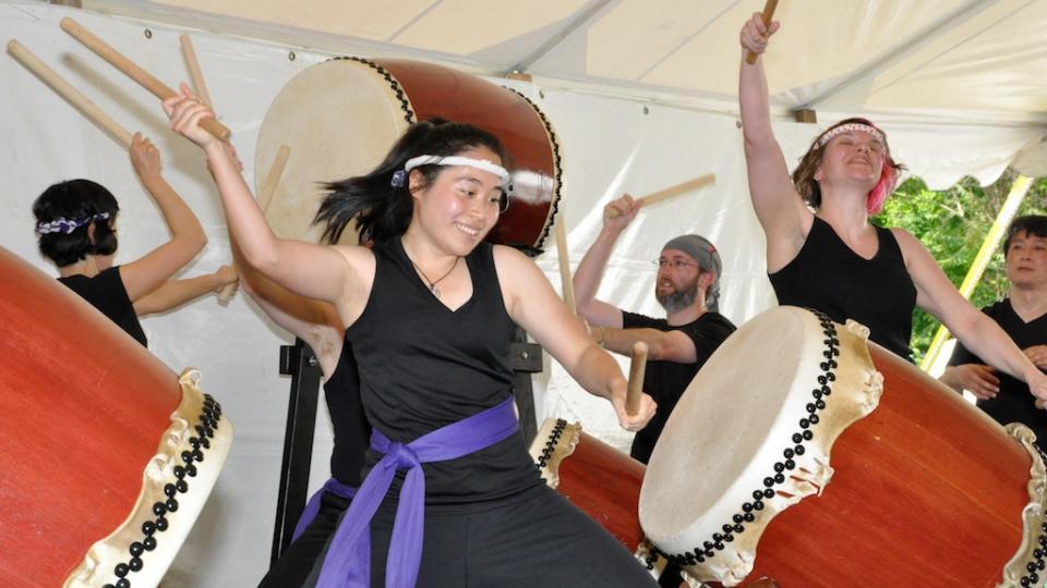 New orleans funk for parader och folkfest