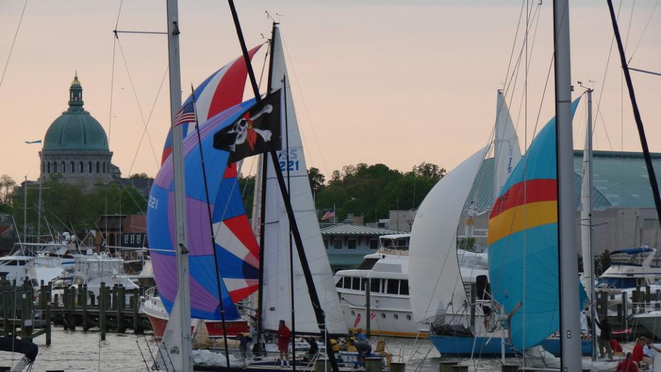 Wednesday Night Sailing Races in Annapolis 10