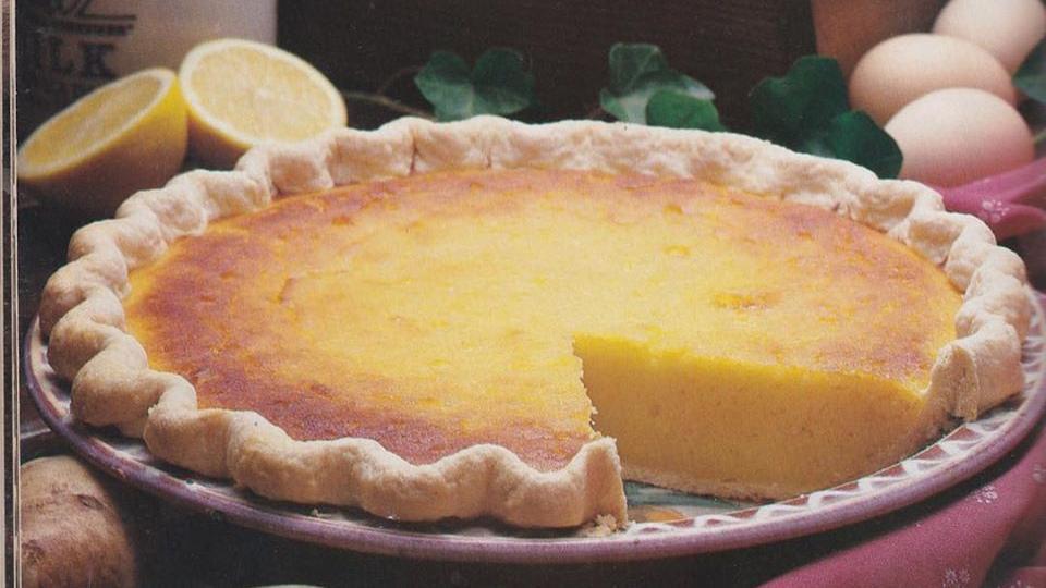 Maryland White Potato Pie