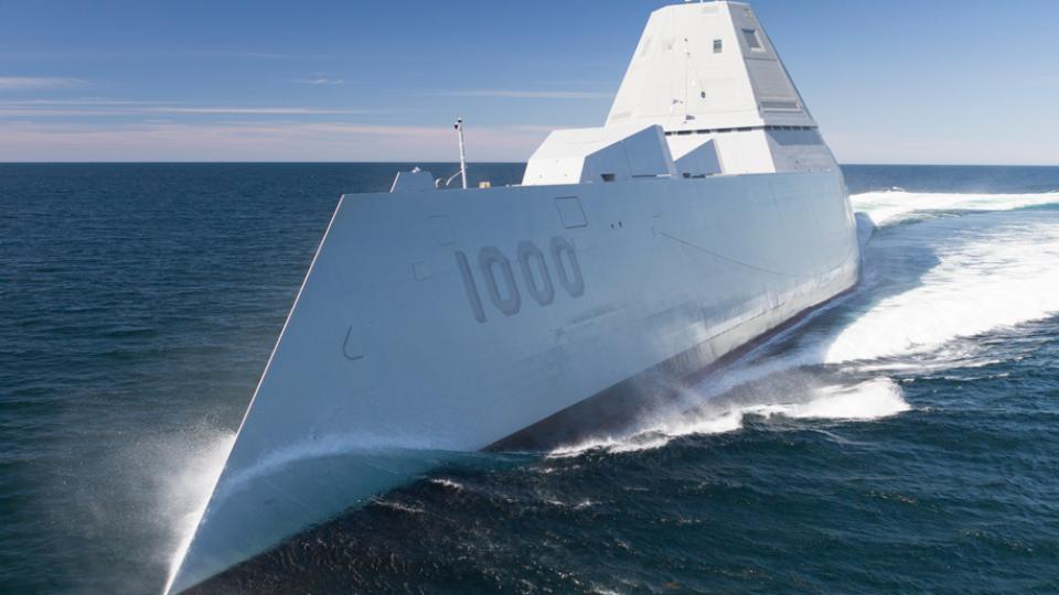USS Zumwalt DDG 1000