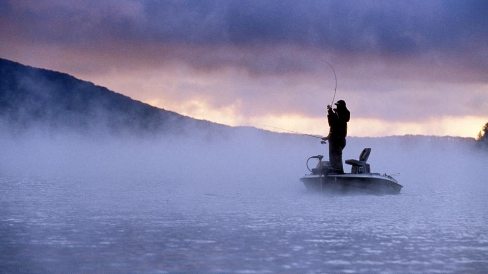 Fishing in Deep Creek Lake State Park