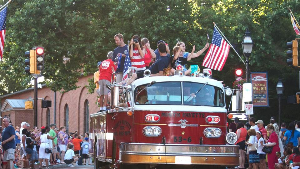 4th of July Parade in Annapolis