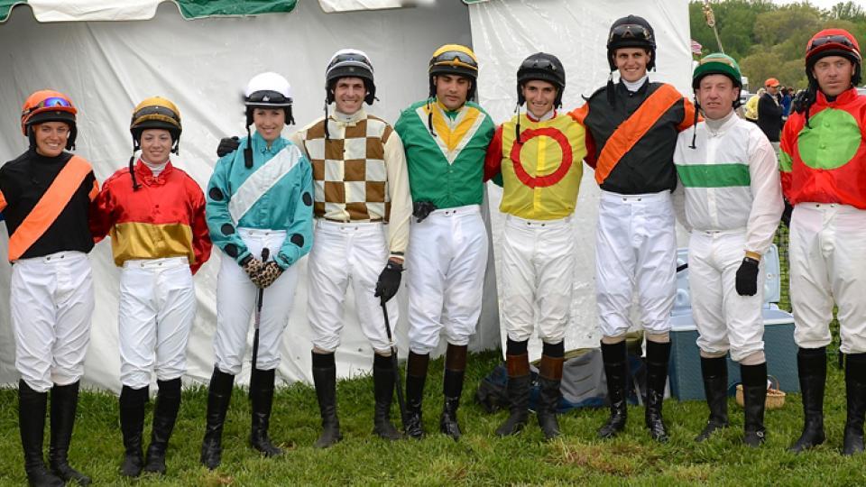 Maryland Hunt Cup jockeys