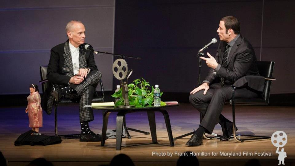 John Waters and John Travolta