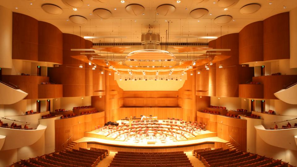 This sumptuous concert hall is home to the Baltimore Symphony Orchestra.