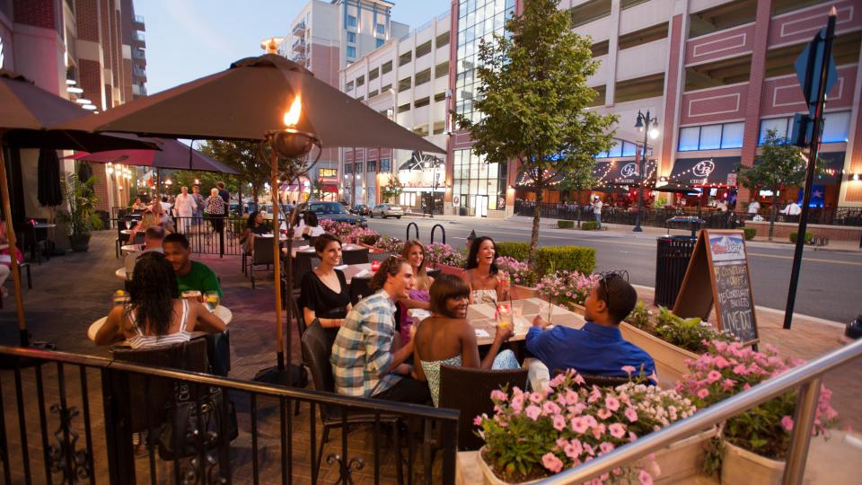 Evening Dining At Public House National Harbor