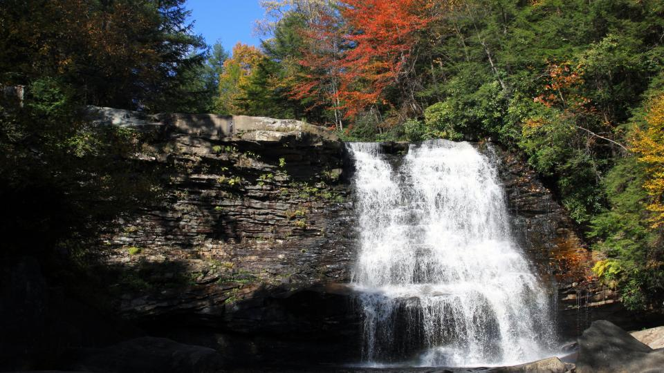 Not far from Deep Creek Lake, see the beautiful falls in this state park.