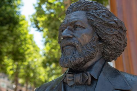 statue of Douglass