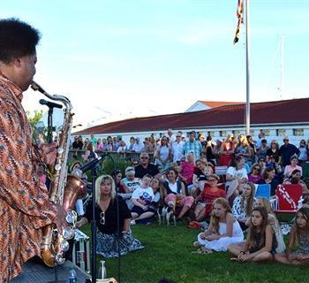 A summer concert Photo