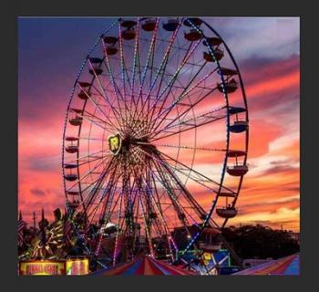 The Ferris Wheel at the Fair Photo