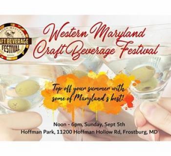 Western Maryland Craft Beverage Festival poster Photo