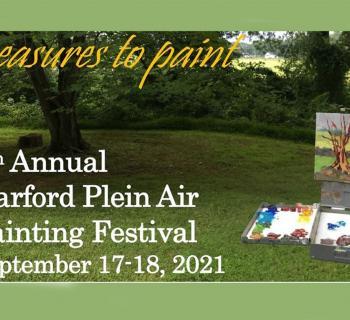 7th Annual Harford Plein Air Painting Festival poster Photo