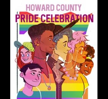 Howard County Pride Celebration poster Photo