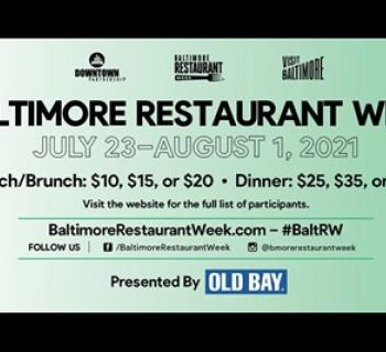 Baltimore Restaurant Week Summer poster Photo