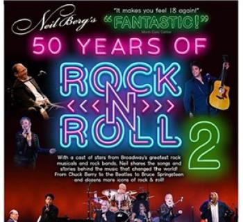 Neil Berg's 50 Years of Rock 'n Roll poster Photo