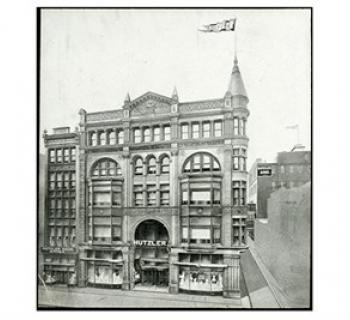 Hutzler's department store. Photo