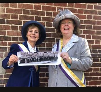 Two Women of Achievement Celebrate Women's History Photo