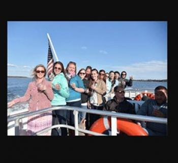 People on a Watermark Cruise to St. Michaels Photo