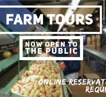 Farm Tours open to public. Photo