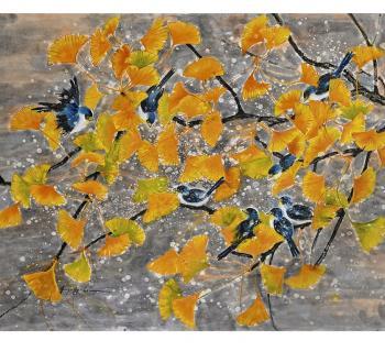 Chinese Brush Painting  Photo