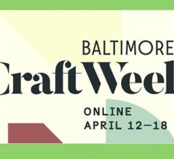 Baltimore Craft Week poster Photo