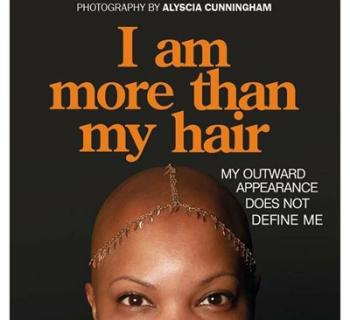 Cover design of I AM MORE THAN MY HAIR book Photo