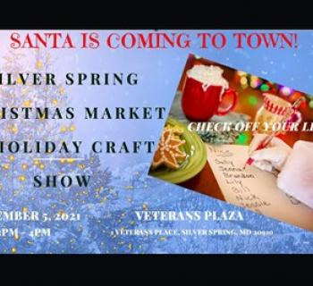 Silver Spring Christmas Market poster Photo