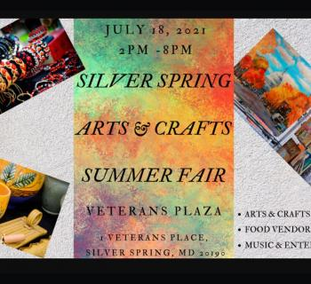 Silver Spring Arts & Crafts Summer Fair poster Photo