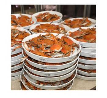 Trays of Crabs Photo