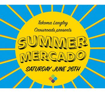 Summer Mercado event logo Photo