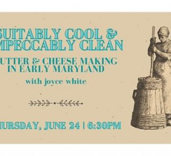 Suitably Cool - Butter and Cheese Making poster Photo