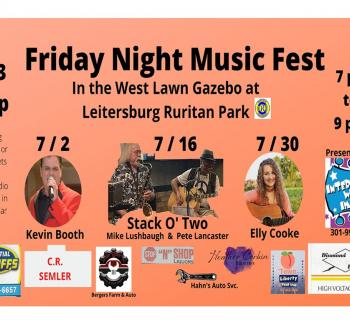 Friday Night Music Fest Banner for July 2021 Photo