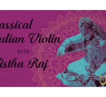 Orpheus Classical Indian Violin Banner Photo