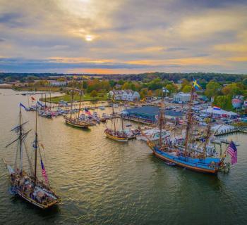 Tall Ships at Downrigging  Photo