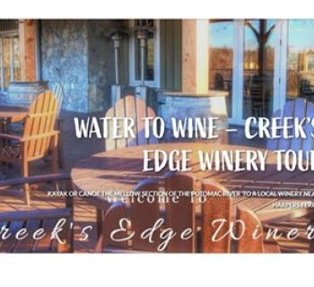 Creek's Edge Winery Tour poster for Water to Wine Photo
