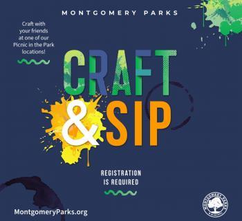 Craft & Sip Event Graphic Photo