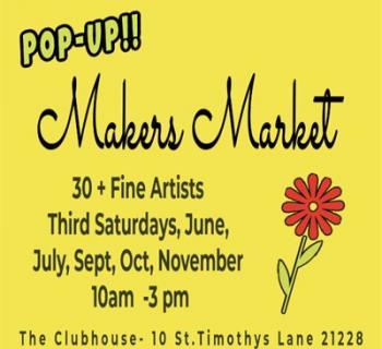 Makers Market Ad Image Photo