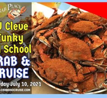 DJ Cleve Funky Crab event poster Photo