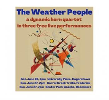 The Weather People - Live in Concert poster Photo