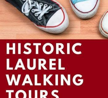 Historic Walking Tour logo with feet Photo