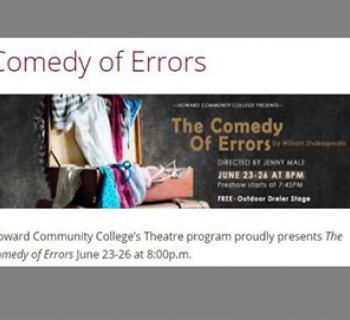 The Comedy of Errors poster Photo