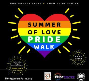 Summer of Love Pride Walk Graphic Photo