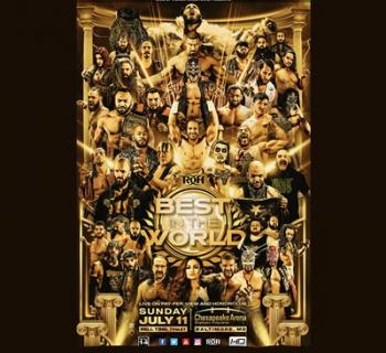 ROH Wrestling Best In The World Poster Photo