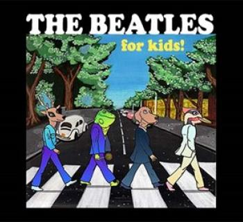Beatles for Kids with musicians as animal Photo