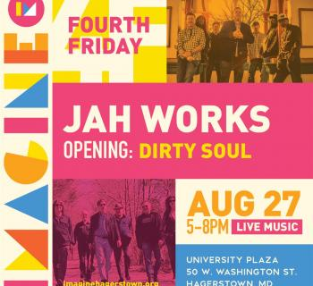 Jah Works and Dirty Soul at Imagine Hagerstown Photo