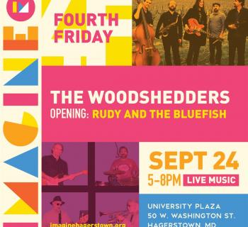 The Woodshedders and Rudy & The Bluefish perform September 24 Photo