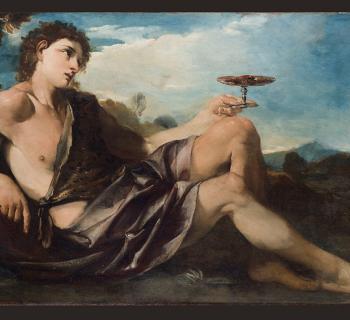 Pier Francesco Mola, Bacchus, or Allegory of Taste, 1662-66, Oil on canvas, Palazzo Chigi, Ariccia Photo